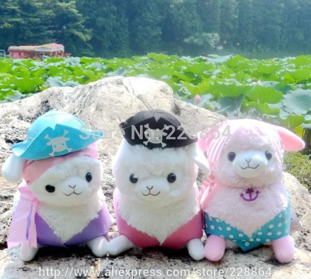 35cm Stuffed animals Sheep Japan arpakasso alpaca plush toy doll christmas gifts new year birthday gift(China (Mainland))