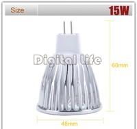 New LED Bulbs Wall Light Christmas 15W MR16 LED 12v Spot Lights Lamp Bulb Warm White Led Spotlights Downlight 3500K SV18 19547