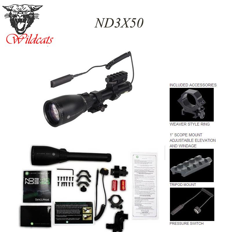 Free shipping ND3 BSA Genetics Laser ND3x50 - Long Distance Green Laser Designator Flashlight(China (Mainland))