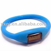 Healthy silicone ion watches