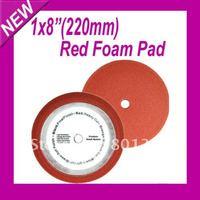 "Top 8"" Red buffing pad/polishing pad For polish Car"