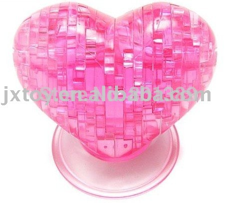Net fun toy lovely gift 3D Crystal Puzzle(China (Mainland))