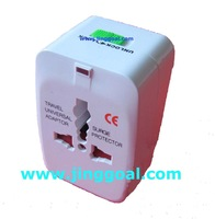200pcs/lot Free Shipping World Travel adapter