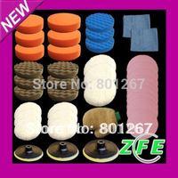 Top 40x polishing pad/buffing pad sets for car polisher