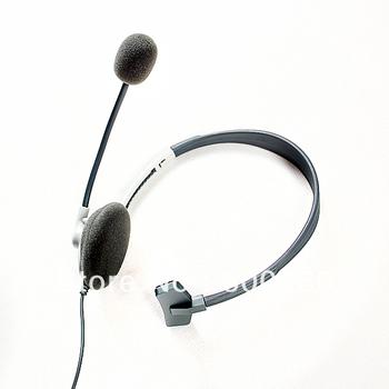 free shipping Earphone Headset headphone+ microphone For XBOX 360 LIVE #8014