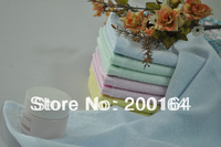 Wholesale12PC 26x48cm Bamboofiber Kid's Hand Towels Children Face Cloth No Stimulus 090002