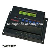 ce rohs WELLSEE WS-C2430 24v 25A Solar panel controller