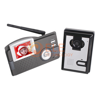 2.4 inch Monitor wireless video door phone video intercom system