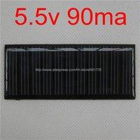 5.5V 90mA 0.495W  mini solar panel solar panel solar power PCB panels solar power battery solar led free shipping