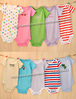 280pcs designs boy&amp;girl&#39;s short sleeve  Baby Rompers,100%cotton romper,6M 9M 12M  18M 24M, 2pcs/lot