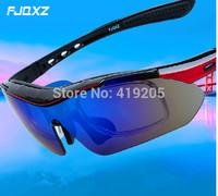 2014 UV protection  Cycling Eyewear Sunglass Outdoor Glasses Bicycle Bike UV400 Sports  Glasses 5 Lenses original Box