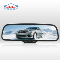 "HD 5"" special car bracket night vision Motion Detection Car Rearview Mirror 1080P DVR  Bluetooth  Rear view parking sensor"