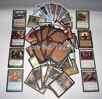 FreeShipping (60 pcs/lot) Magic The Gathering DIY Rare Cards Black Lotus/Tarmogoyf/Force of Will Power9 MTG Cheap Proxy Card