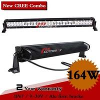 35 Inch 164W CREE LED Work Light Bar IP67 For Off Road Boat UTE SUV ATV Truck Fog light External Light Seckill 112W