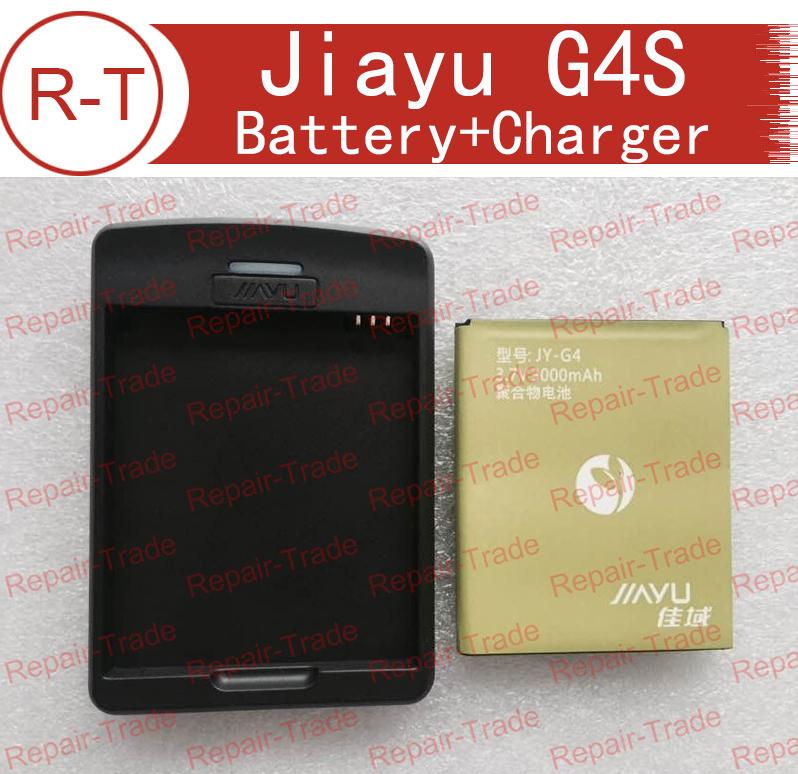 Jiayu G4s Battery Replacement 100% Original 3000Mah Li-ion Battery + Dock Charger Desktop For Jiayu G4 G4C G4T G4S Free Shipping