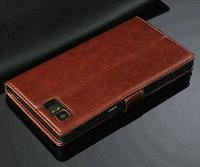Free Shipping High Quality Lenovo K920 Retro Flip Leather Case Cover For Lenovo K920 Phone cover case