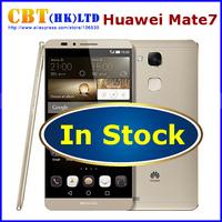 """Original Huawei Ascend Mate 7 4G FDD LTE Smart Phone Kirin 925 Octa Core Android 4.4 3GB RAM 32GB ROM 6"""" FHD Screen 13MP Camera"""