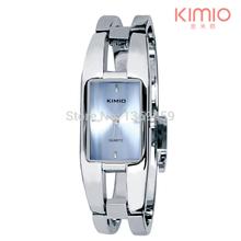 KIMIO Luxury Fashion Designer Geneva Quartz Watch Women Stainless Steel Bracelet Watches Brand Wristwatches Relogio Feminino