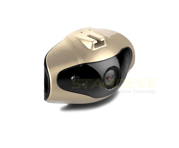 New H500 Novatek Chip Fisheye Mini Car Dvrs Full HD Camaras Coche Car Video Recorder Better than K6000 Free Shipping(China (Mainland))