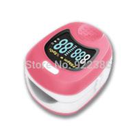 Children Fingertip digital Pulse Oximeter SpO2 and heart rate monitor OLED display oxymetre pulsometros saturimetro