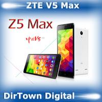 In stock original ZTE V5 MAX Mobile Phone LTE DUAL SIM msm8916 64-bit quad-core 5.5 inch HD 13mp + 5mp 2gb RAM 16gb ROM 3100mAh