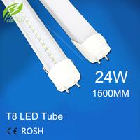 T8 led tube 1500MM 24w,AC85-265V,SMD2835,120led/pcs,warranty 2 years,SMTB-16-8