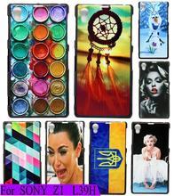 For SONY Xperia Z1 L39H C6902 C6903 C6906 Cover Case Charming Luxury Skin Custom Cellphone Hard Plastic