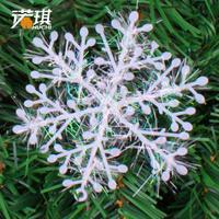 10CM size 12 pieces Christmas tree decoration christmas snowflakes window stickers snowflakes Christmas 8g