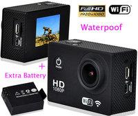 Original!Waterproof Sport Camera DV 1080P Full HD WiFi SJ4000 Action Camera Diving 30M GoPro Camera Style Extreme Sport Camera