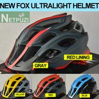 NEW FOX FLUX helmet mtb casco bicicleta ciclismo ULTRALIGHT 20 AIR VENTS EPS BICYCLE ACCESSORIES 4 COLORS RACING CYCLING