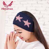 Korea fall/winter Knitting yarn headband headband hair Hoop Stars wholesale