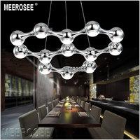 Hot sale LED Chandelier Light  Black Silver Modern LED Chandelier  Suspension Hanging Lighting 100% Guarantee +Free shipping