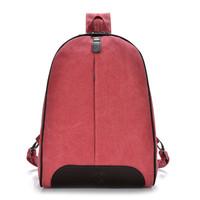 2015 New Quality Women Backpacks Korean Canvas Backpack  Teenage Girl School Bags College Student Bookbag 5 Colors In Stock