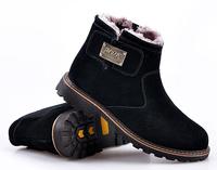 2014 new snow boots men shoes men winter brand classic male plush fur luxury winter men boots martin Zapatos sapatas botas