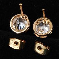 Fashion 2014 hot / new / green copper plating 18K Gold Earrings romantic Earrings