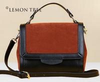 NEW 2014 Genuine leather bags Women leather Handbags women messenger bag shoulder bags crossbody lday fashion bolsas femininas
