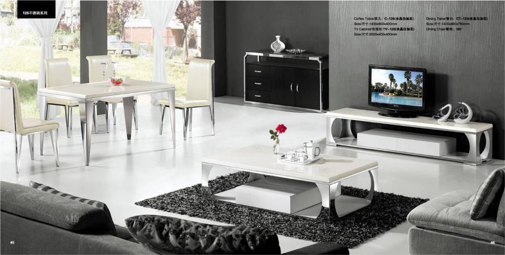 Witte woonkamer sets : ACTIE Complete eiken hoogglans witte woonkamer ...