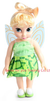 16Inches Princess animators Tinker Bell Doll Sharon Doll with Oringinal Box for Option Gift For Girls Tinker Bell Princess Doll