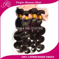 Lina hair 6A Brazilian Virgin Hair Weaves 4Pcs/Lot Bundles Unprocessed Virgin Brazilian Body Wave Wavy Brazilian Human Hair