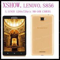 Original 4G FDD LTE Phone Lenovo S856 Snapdragon 400 Quad Core 1.2GHz 5.5 inch IPS 1280x720 1GB RAM 8GB ROM 8.0MP GPS Dual SIM