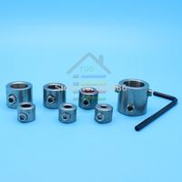 New 7pcs Non Marking / No Mar Drill Bit Depth Stop Collar System Metric and Engish Free shipping