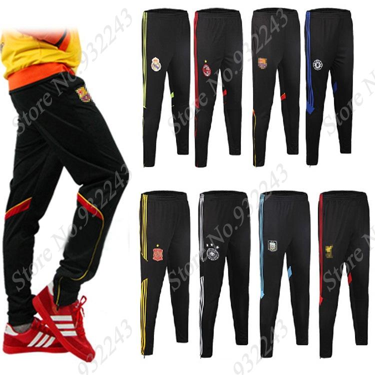 Athletic Man Sports Long Pants Men Soccer Football Sports Trousers Boy Sweatpants Gym Men's Sweats Jogger Track Pants Training(China (Mainland))