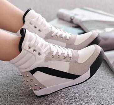 new fashion sneakers women's shoes female sapatilhas feminina casual adulto chaussure femme height increasing tenis feminino(China (Mainland))