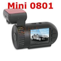 Original Mini 0801 Car DVRs camera recorder Ambarella A2S60 OV2710 1080P GPS Build in 8GB ROM black box HD cars dvr