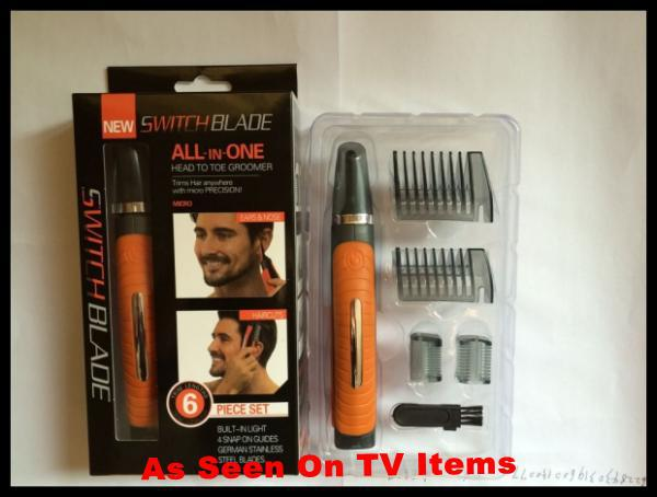 2 in 1 hair trimmer as seen on tv micro switchblade touch shaver grooming. Black Bedroom Furniture Sets. Home Design Ideas