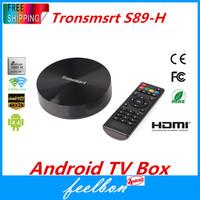 Tronsmart Vega S89 Amlogic S802 Quad Core 2GHz Android TV Box 2.4G/5GHz Dual Band WiFi 2G/16G Mali450 GPU 4K*2K HDMI Bluetooth