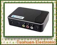 Hot selling! CVBS Audio MPEG4 USB H.264 PVR IR Digital Terrestrial Receiver HDMI Mini HD 1080P Video Broadcasting DVB-T2 Tuner