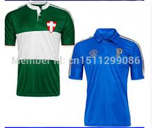 Palmas camisa Valdivia kardec Mendieta 2014 + + + tailândia qualidade superior esportes sociedade brasil palma futebol jersey verde(China (Mainland))