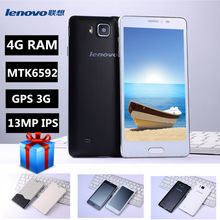 "MTK6592 octa core Lenovo phone 4G RAM GPS 3G WCDMA 13MP 5.5"" 1920*1080 IPS smart android phone china mobile phone"
