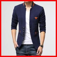 New Autumn Winter Top Quality Men's Woolen Single Button Casual Blazer ,Men's Business Slim Jacket Coat ,SIZE M-3XL ,G2798(China (Mainland))